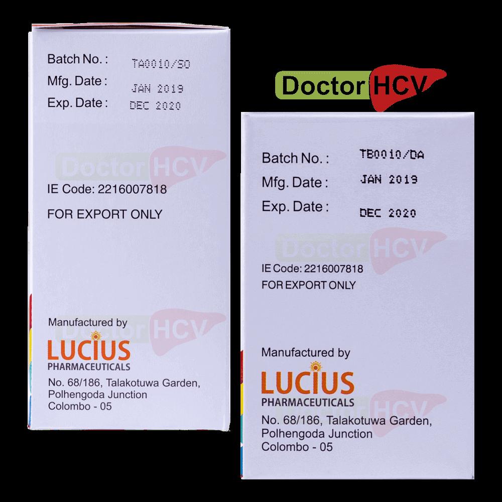 Фото даты на упаковках lucisof lucidac