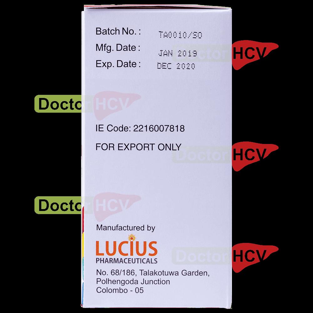 Фото даты упаковки препарата Лючисоф